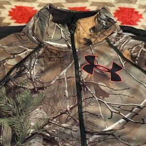 Women Camo Under Amour Pullover